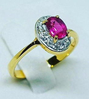 Ruby and Brillian Ring-MainImage
