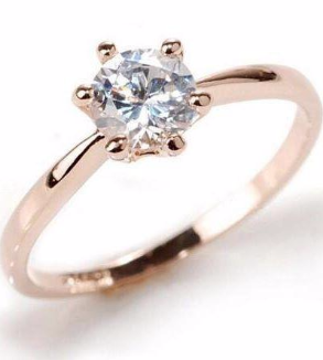 Classic Zircon Ring-MainImage