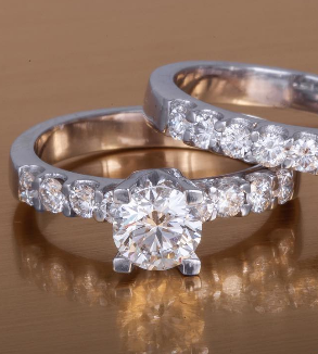 Diamond Ring and Back Ring-MainImage