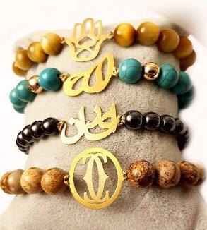 Stone & Gold Bracelets-MainImage