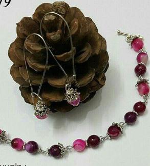 Indonesian Pink Opal Stone Bracelet-MainImage