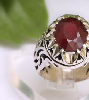 Silver Ring with Ruby-MainImage