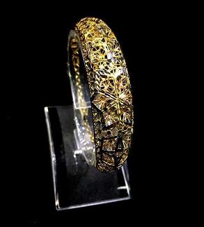 دستبند فیوژن طلا زرد-MainImage