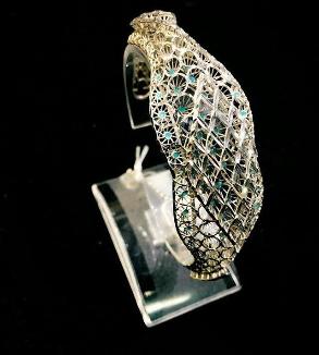 دستبند فیوژن طلا سفید