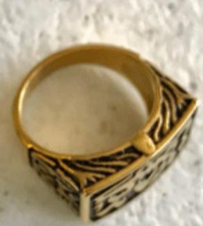 انگشتر طلا طرح عشق-Image2