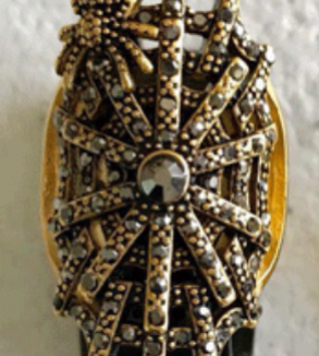 انگشتر طلا طرح تار عنکبوت-mainImage