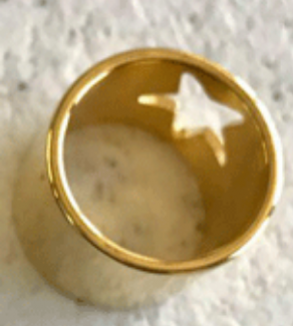 انگشتر طلا طرح ستاره-Image2